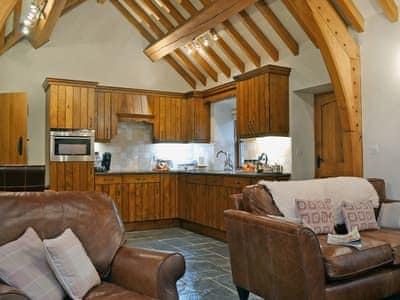 Open plan living/dining room/kitchen | Yr Efail, Nr. Dolgellau