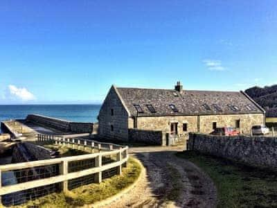 Exterior | The Hebridean Trust - Alan Stevenson House, Isle of Tiree