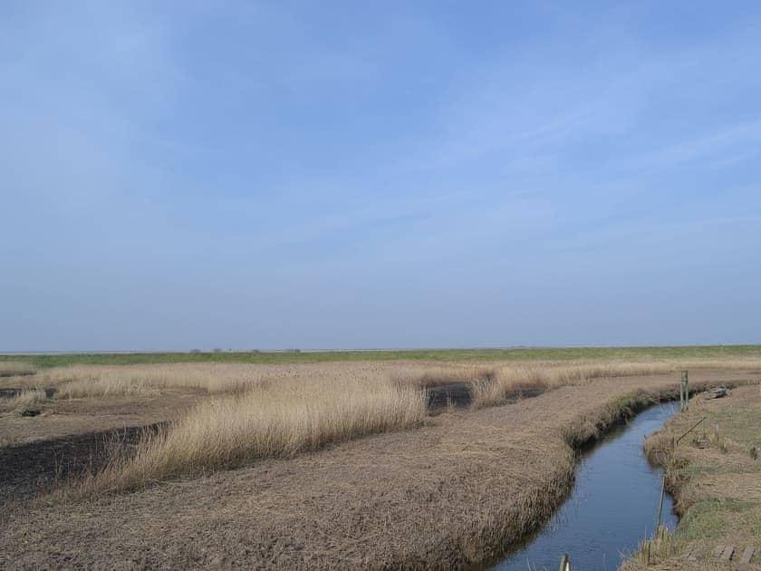 Salt marshes | Maison du Quai, Cley-next-the-Sea