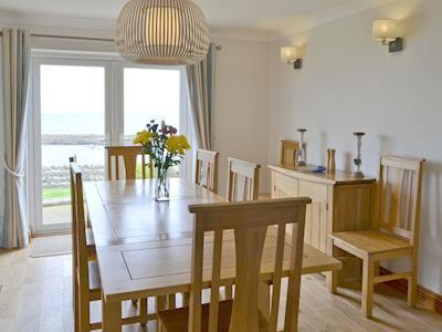 Spacious dining room | Waters Edge, Craster, near Alnwick