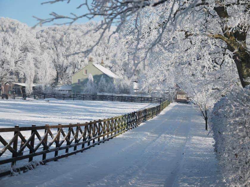 High Moor in winter   High Moor Cottage, Brampton, nr Appleby