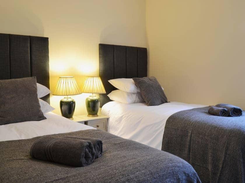 Twin bedroom   Seascape, Aberystwyth