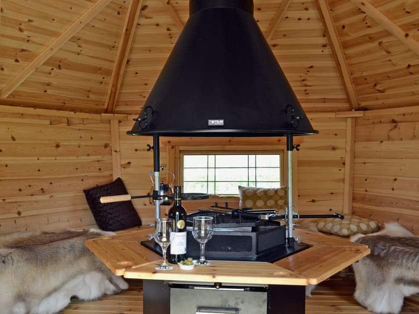 Barbecue Hut | Cefnllaethdre - The Stables, Glynarthen, nr. Cardigan