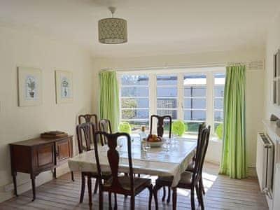 Dining room | Arbigland Farms - Shore Cottage, Arbigland Estate, Kirkbean nr. Dalbeattie