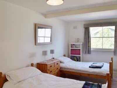 Twin bedroom | Arbigland Farms - Shore Cottage, Arbigland Estate, Kirkbean nr. Dalbeattie