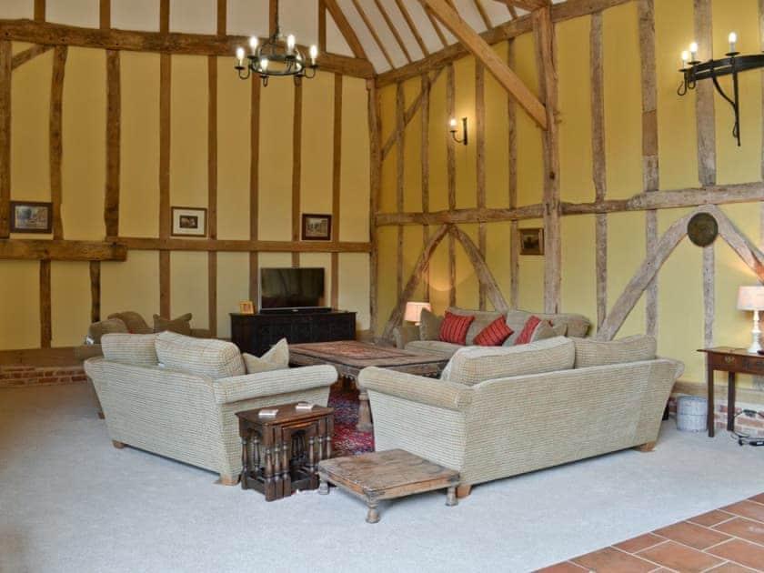 Living room   Rose Farm Barn, Cratfield, nr. Laxfield