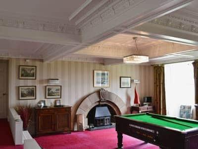 Games room | Ardlamont Estate - Ardlamont House, Tighnabruaich