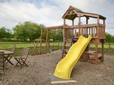 Children's play area | New Park Farm - Ellen Cottage, Nr. Bassenthwaite Lake, Keswick