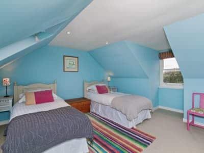 Twin bedroom | Kirkmichael House, Kirkmichael, nr. Blairgowrie
