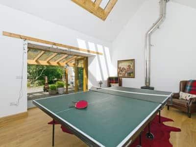 Games room | Kirkmichael House, Kirkmichael, nr. Blairgowrie