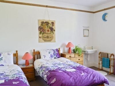 Twin bedroom | Igdrasil, Fylingthorpe, Robin Hood's Bay, nr. Whitby