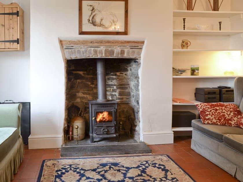 Characterful living room | Brynhoreb, New Cross near Aberystwyth