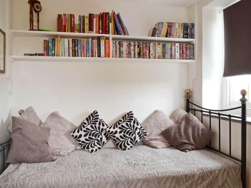 Comfy 'day bed' in study | Brynhoreb, New Cross near Aberystwyth