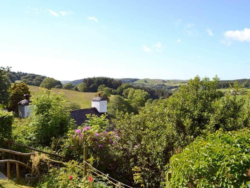 View | Brynhoreb, New Cross near Aberystwyth
