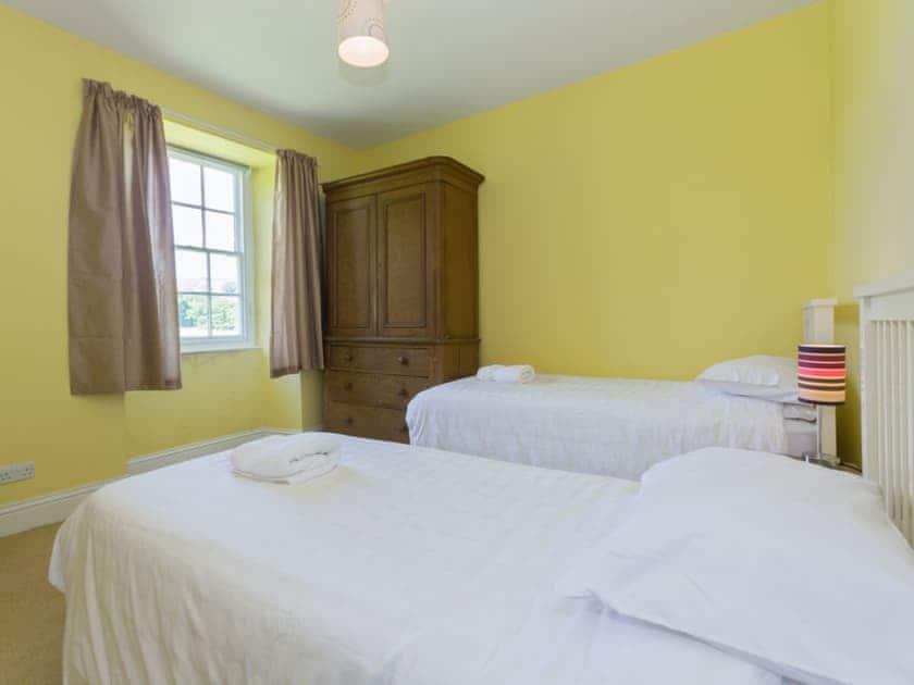 Twin bedroom | Baysdale Abbey, Kildale, nr. Stokesley