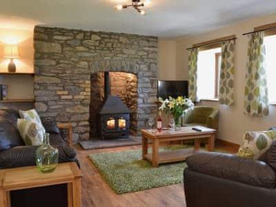 Living room | Gorsddu, near Llanwrthwl, Powys