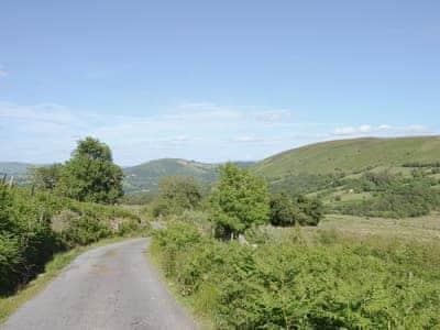 Surrounding area | Gorsddu, near Llanwrthwl, Powys