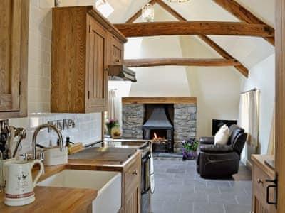 Kitchen | Grofftau Cottages - Awel Y Mynydd, Pontrhydfendigaid, nr. Tregaron