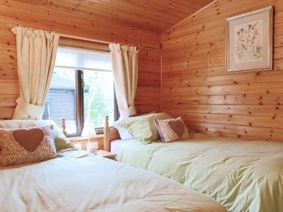 Twin bedroom | Fell Foot  Lodge - Burnside Park, Keswick