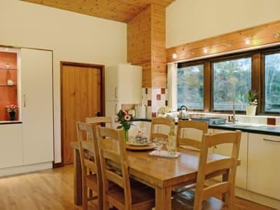 Kitchen/diner | Ash Lodge at Lon Lodges, Nr. Rhayader