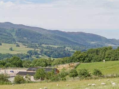 Glorious uninterrupted views  | Mid Balchandy Cottage - Mid Balchandy, Pitlochry