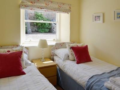Twin bedroom | Oldhamstocks Cottage, Oldhamstocks, By Dunbar