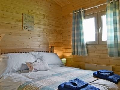 Double bedroom   Birdsong Cabin, Breakish near Broadford, Isle of Skye