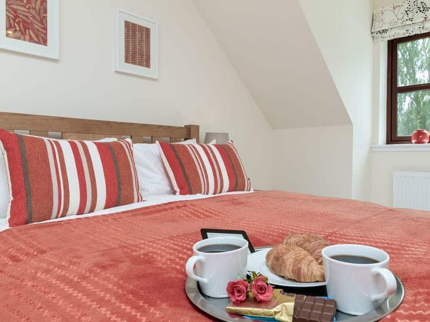 Comfortable double bedroom | Birch Corner, Aviemore