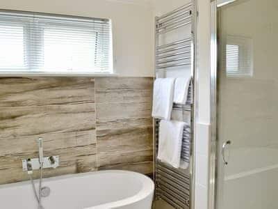 Bathroom | Lake Bank Lodge, Water Yeat near Coniston
