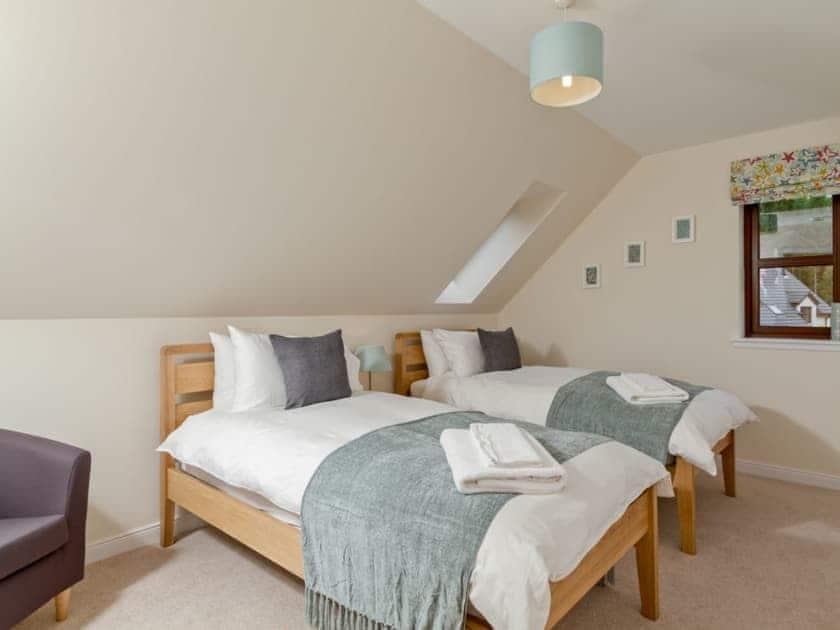 Quaint and cosy twin bedroom | Birch Corner, Aviemore