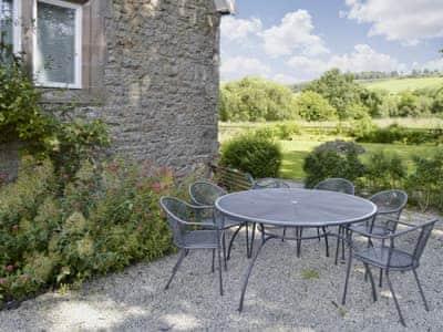 Outdoor eating area | Barton School House, Pooley Bridge, Ullswater