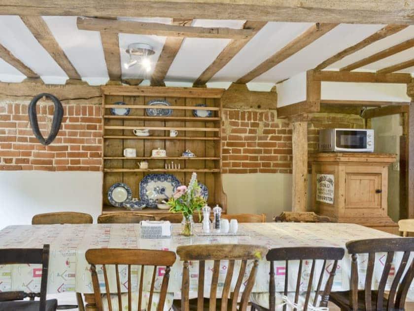 Kitchen/diner   Rose Farm Barn, Cratfield, nr. Laxfield