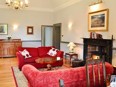 Open plan living space | Eland - Pitcairlie House, Near Auchtermuchty