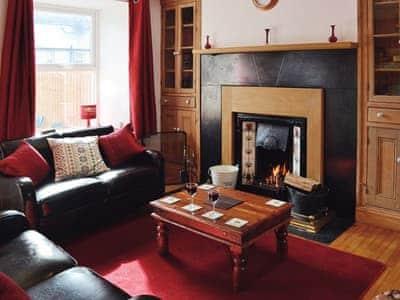 Living room/dining room   Bron View Cottage, Blaenau Ffestiniog