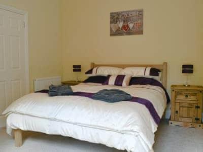 Double bedroom | Barncailzie Lodge, Springholm near Dalbeattie