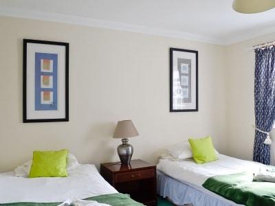 Twin bedroom | Craigview Cottage, Gartmore near Aberfoyle