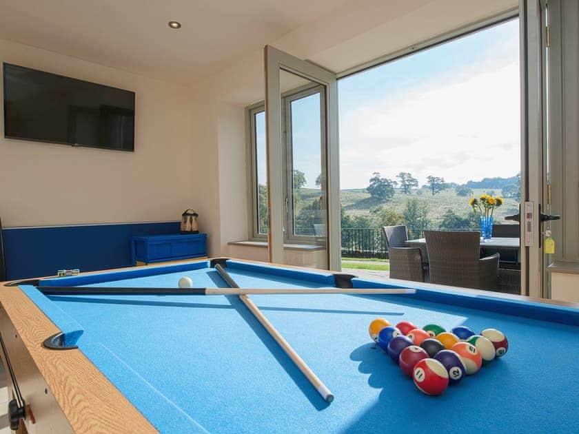 Games room | The Granary, Ellastone, nr. Ashbourne
