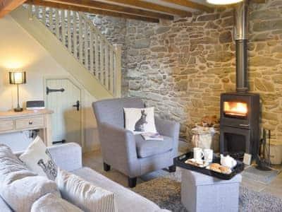 Open plan living/dining room/kitchen | Ivy Bush Cottage, Llandewi Brefi, nr. Tregaron