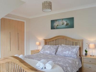 Double bedroom | Sparrowhawk Lodge, Aviemore