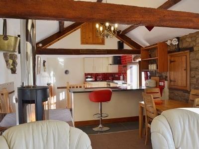 Open plan living/dining room/kitchen | The Hayloft, Great Urswick near Ulverston