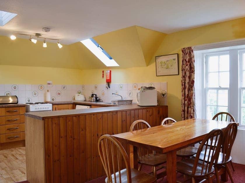 Open plan living/dining room/kitchen | Blairquhan Castle Estate - McIntyre Cottage, Straiton, nr. Maybole