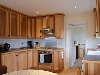 Kitchen/diner   Glowry Cottage, Gilmerton near Crieff