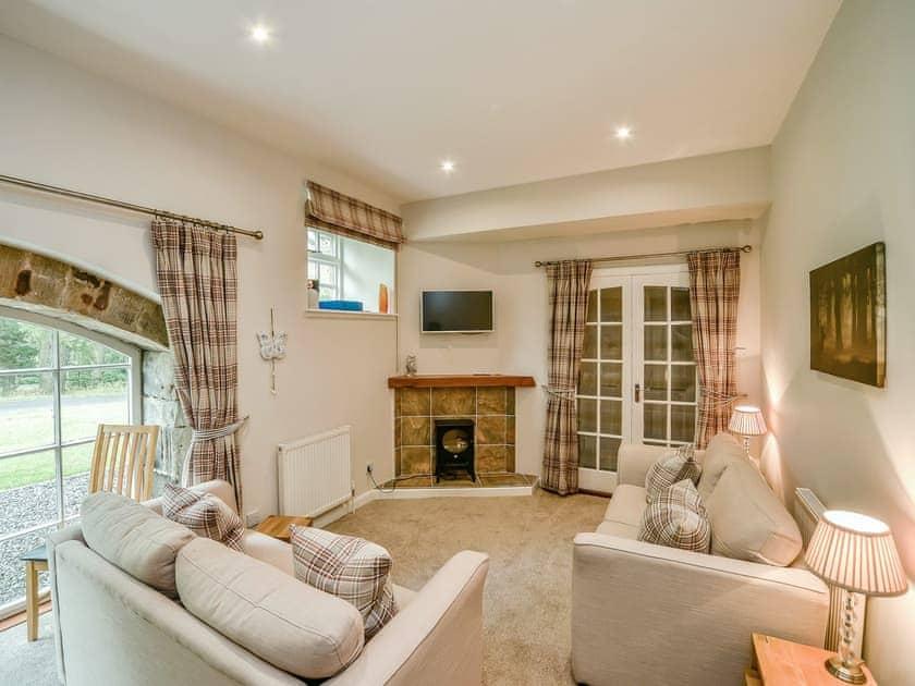 Cosy living room area   Cunninghame Cottage - Blairquhan Castle Estate, Straiton, near Maybole