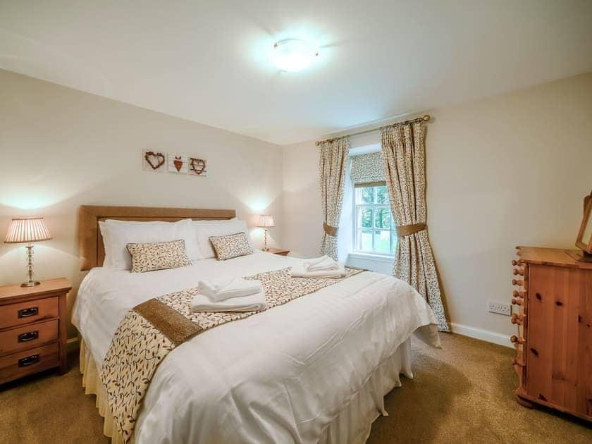 Comfortable double bedroom   Cunninghame Cottage - Blairquhan Castle Estate, Straiton, near Maybole