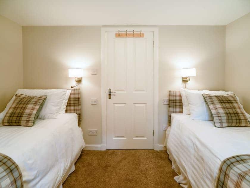 Twin bedroom   Cunninghame Cottage - Blairquhan Castle Estate, Straiton, near Maybole