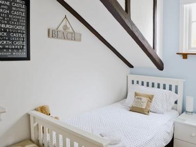Single bedroom | Cherry Cottage, Craster