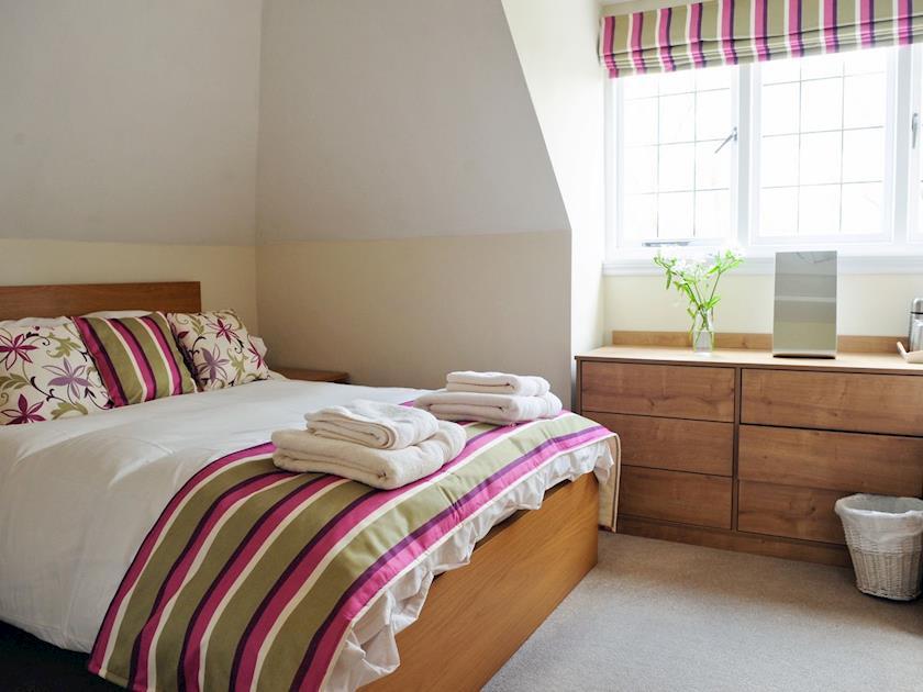 Comfortable double bedroom   Lambley Lodge, Lowdham