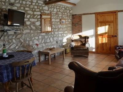 Living room/dining room   Beacon Farm - Guillemot Cottage, Flamborough