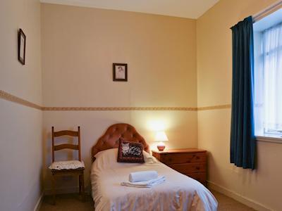 Single bedroom   MacDonald Cottage - Kirkmichael Village Cottages, Kirkmichael, near Pitlochry