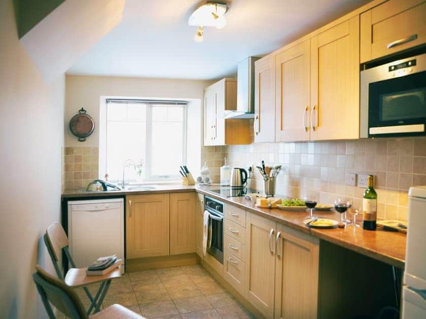 Kitchen   Amber Cottage - Basin Howe Farm, Sawdon near Scarborough